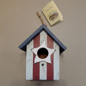 May Rich Rustic Cherished Addition Bird House